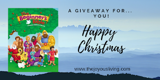 The Joyous Living is excited to offer this giveaway for Christmas!