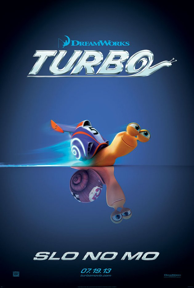 Dreamworks Turbo Poster