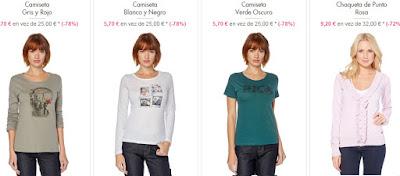 Camisetas y chaquetas mujer