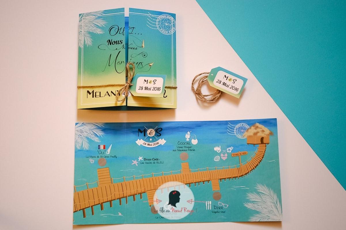 Bien connu Embarquement en direction de Bora Bora pour le mariage de M&S - La  FC77