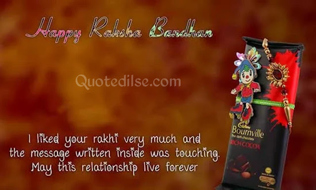 raksha bandhan funny quotes for brother