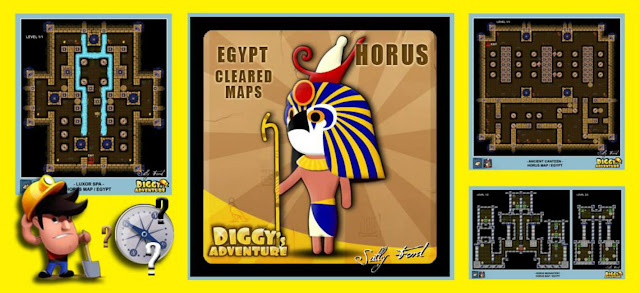 Diggy's Adventure Walkthrough: Horus Quest