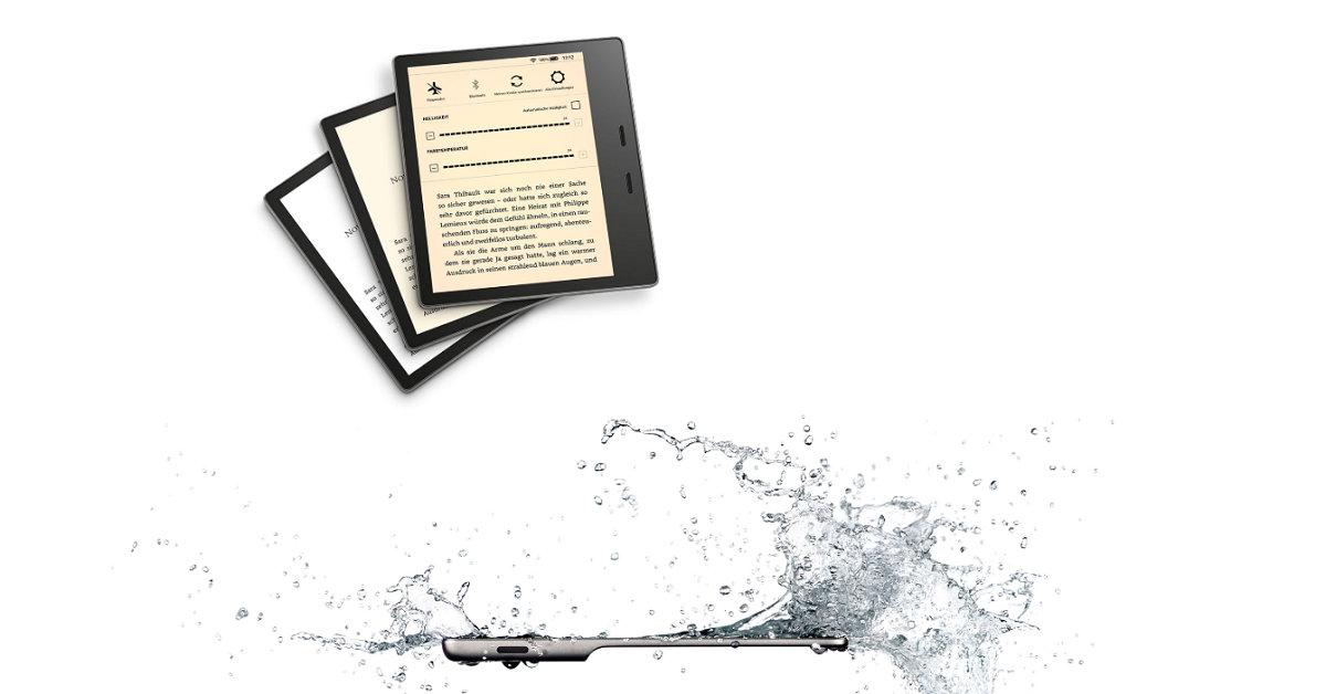 wodoodporny Kindle Oasis 3 z regulacją barwy podświetlenia