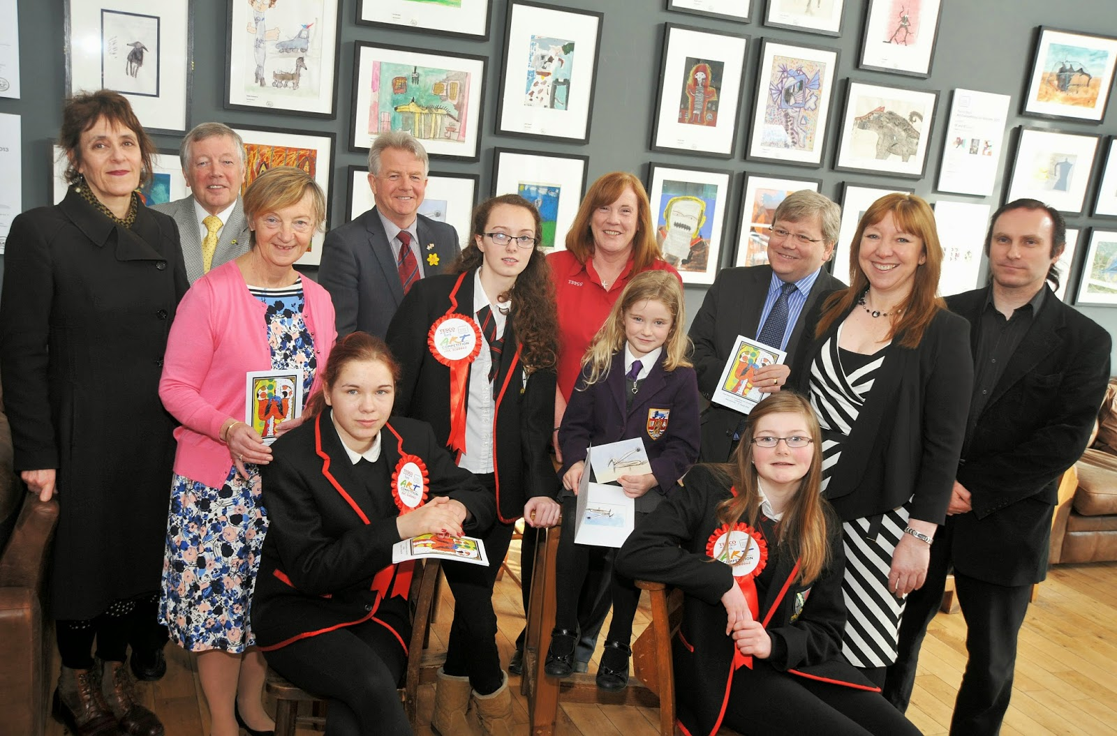 Ayrshire Scotland Business News Sustainable Development Windpower South Council Talented Children And Young People Across Including Artists From Schools Is Now On Display In The Beanscene