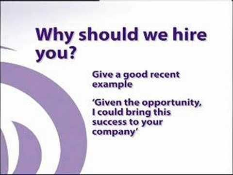 Why Should We Hire You? Among The Tough Interview Question And How - why should i hire you