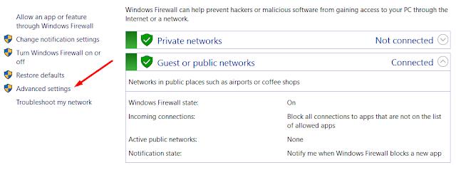 Cara Memblokir Akses Internet Aplikasi Windows 10 Tanpa Aplikasi Pihak Ketiga 5
