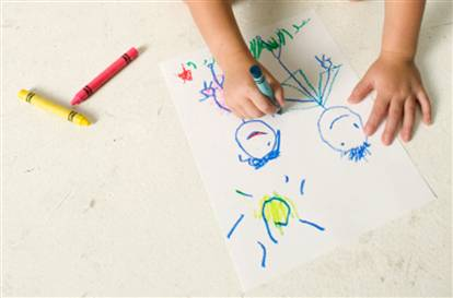 Menggambar, Media Komunikasi efektif dengan Anak