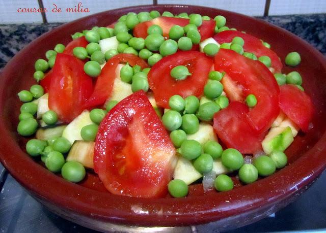 Tajín de verduras