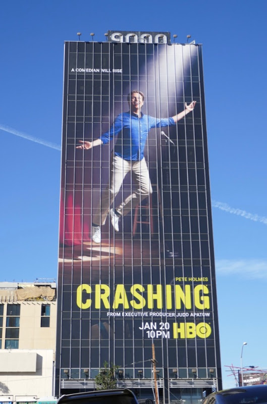 Crashing season 3 billboard
