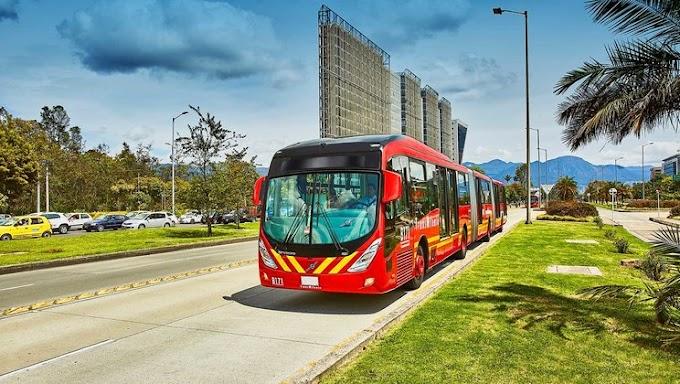 Volvo entregará 700 buses urbanos en Bogotá Colombia