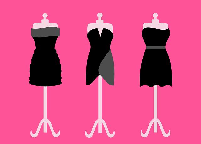 faldas,infografía, modelos, moda, formas de faldas