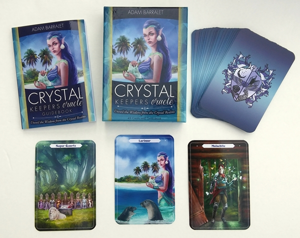 Oracle Deck Review: Crystal Keepers Oracle - BOHEMIANESS
