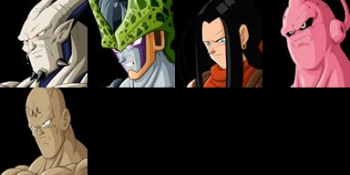 Graficos faciais Dragon Ball 1F4