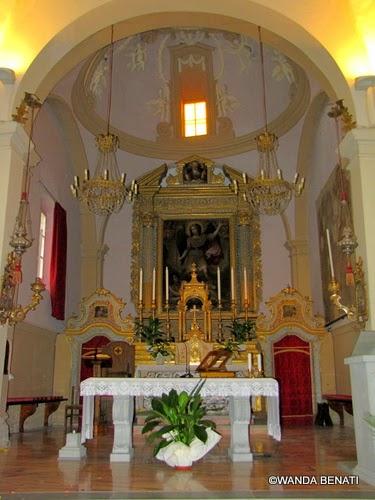 San Michele Arcangelo: pala d'altare attribuita a Guido Reni