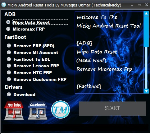 Micky Android Reset Tools Pack Free Download