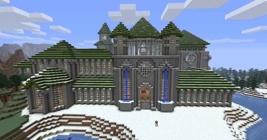 The Minecraft Castle Magnificent Medieval Minecraft Castle