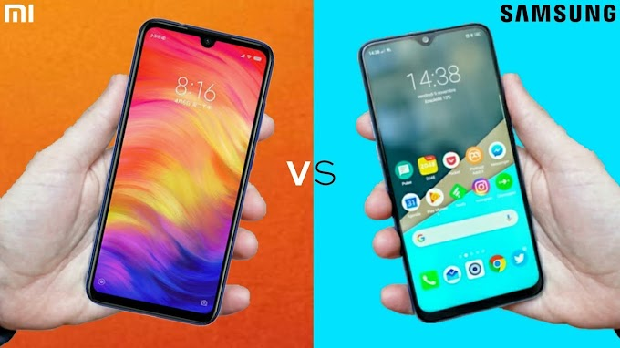 Comparison Of Redmi Note 7 vs Samsung Galaxy M30