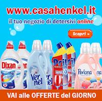 Logo Casa Henkel : 1 + 1 Gratis e raddoppi la tua scorta