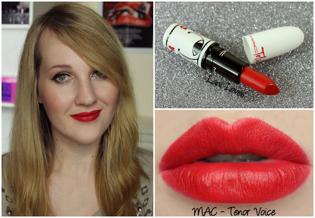 MAC Tenor Voice lipstick swatch
