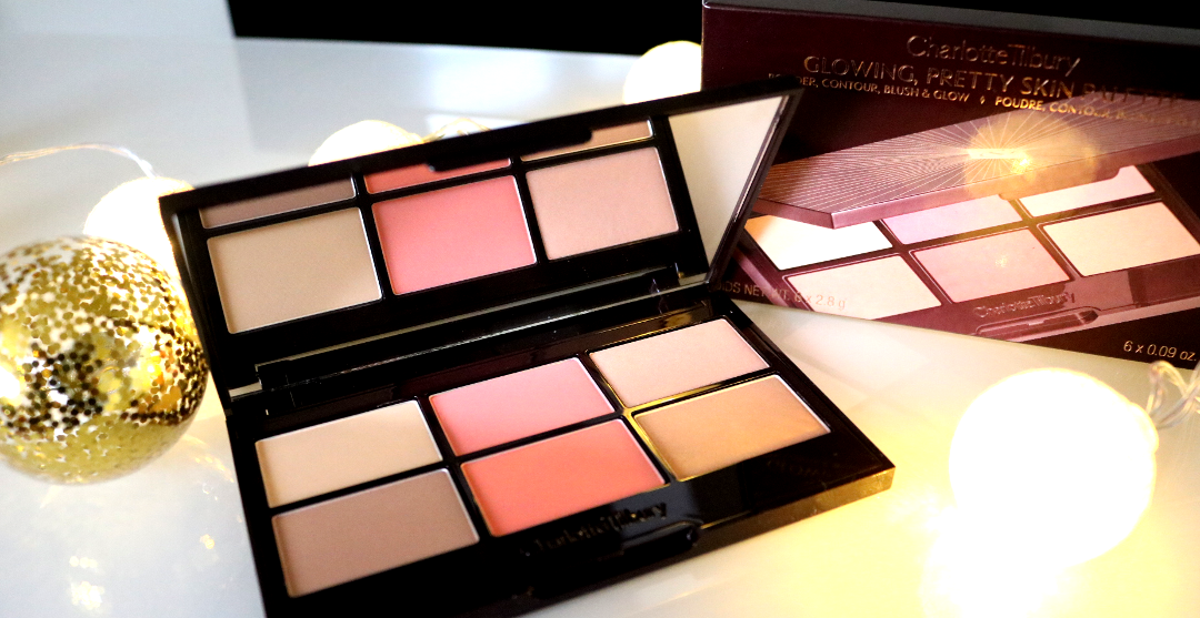 Charlotte Tilbury Glowing Pretty Skin Palette