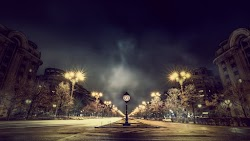 Lights. Street. Cityscape