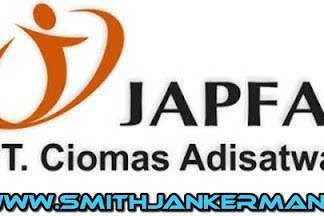 Lowongan PT. Ciomas Adisatwa (Japfa Group) Pekanbaru Mei 2018