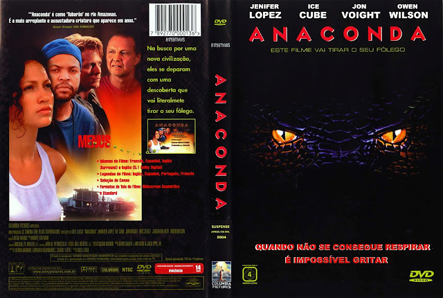 Capa DVD Anaconda