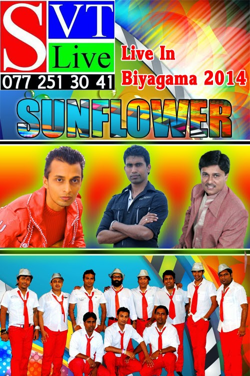 SUNFLOWER LIVE IN BIYAGAMA 2014