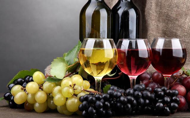 الفرق بين  انواع الخمر والنبيذ بالتفصيل