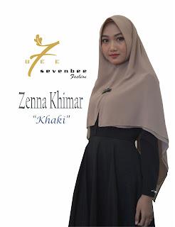 ZENNA KHIMAR KHAKI