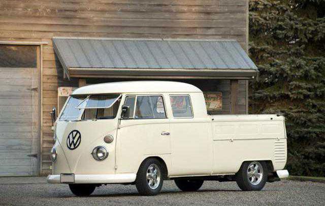 1965 Vw Double Cab Vw Bus