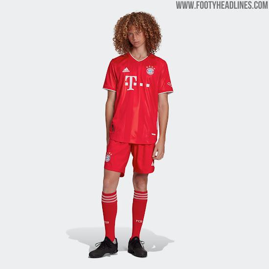 Bayern Munich 20-21 Home Kit Released - Footy Headlines