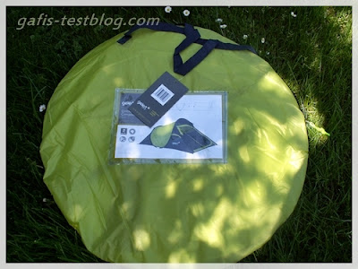 Pop up Zelt - Gelert Quickpitch Compact 2 - verpackt
