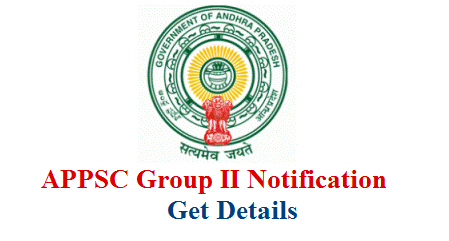 Andhra Pradesh Public Service Commission Released Group II Notification to fill up 446 vacancies Post wise eligibility qualifications How to Submit Online Application Form at www.psc.ap.gov.in . Detailed Notification which contains educational Qualificaition Schedule Screening Test Main Exam Dates Syllabus Exam Pattern Selection Procedure of APPSC Group II is here. Download APPSC Group II Detailed Notification appsc-group-ii-services-recruitment-notification-vacancies-eligibility-online-application-exam-dates-download-hall-tickets-keys-results-selection-list-psc.ap.gov.in