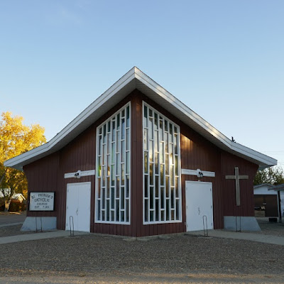 church, Eastend, Saskatchewan, historic