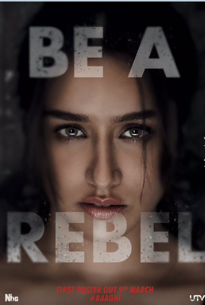 Baaghi - Rebel For Love Movie Poster Release