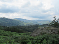 A view from the top of Rydal cave - by: © Paul c Walton