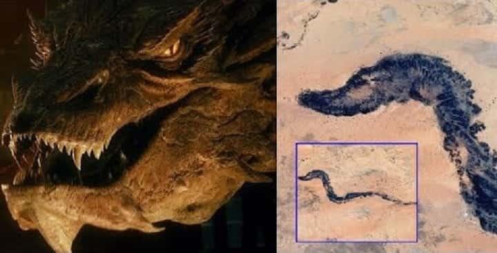 Βρέθηκε Απολιθωμένος Δράκος Μήκους 10.000 χιλιομέτρων; (video)