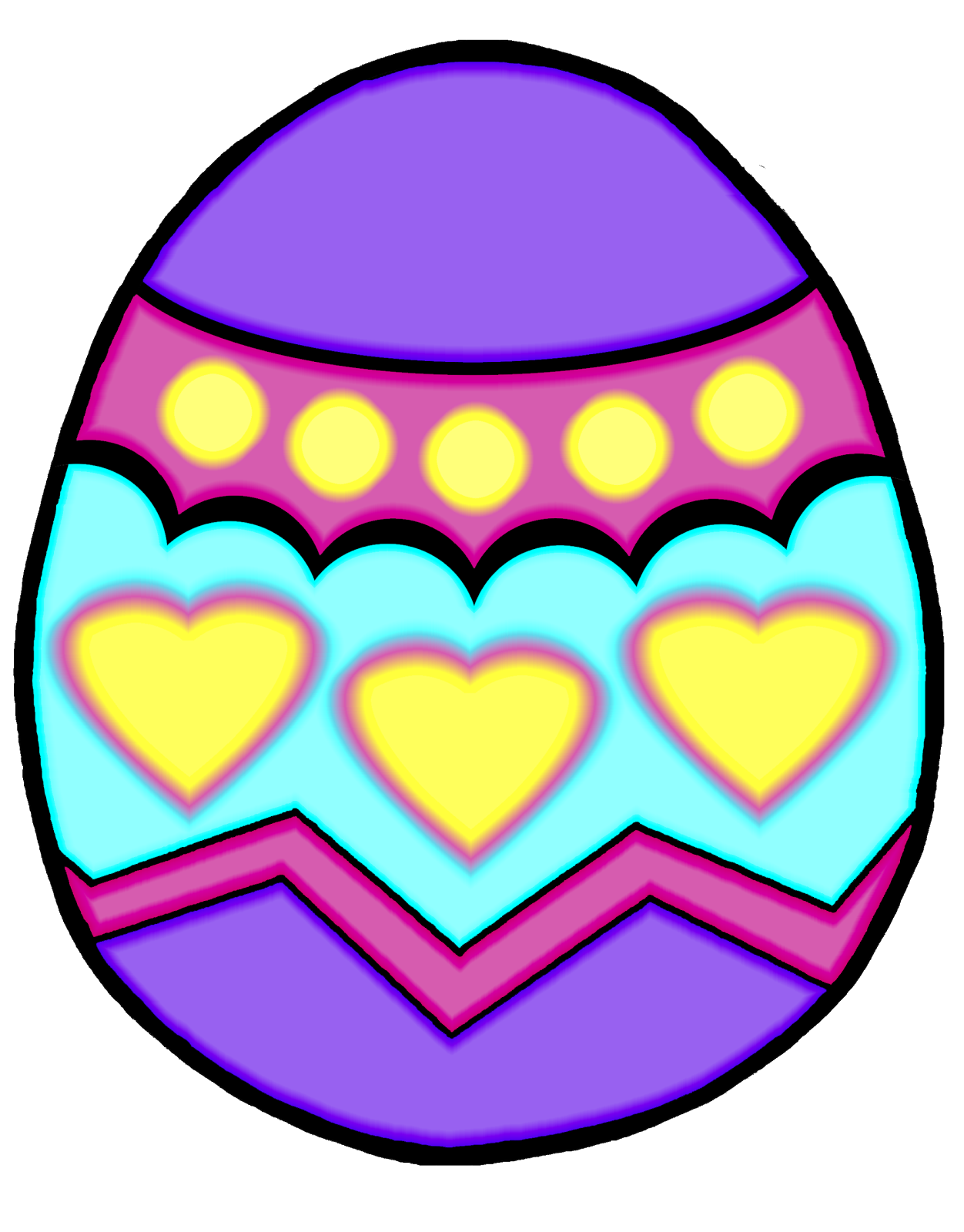 free clipart of easter eggs - photo #15