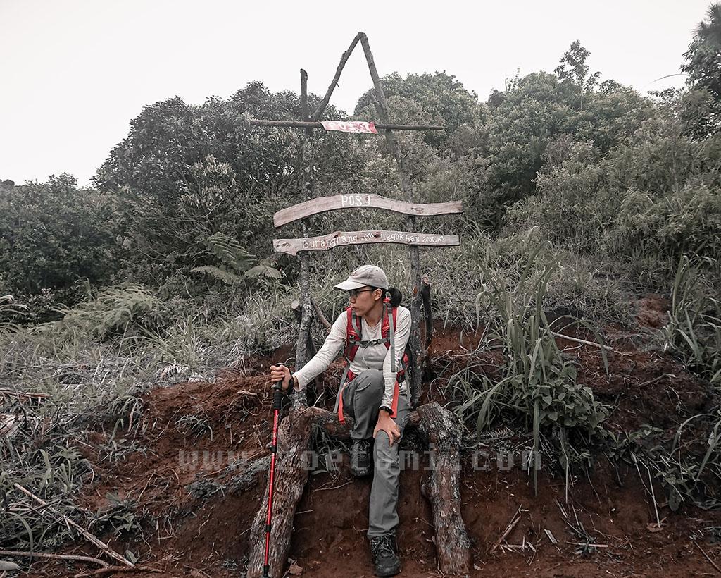 POS 1 Gunung Burangrang via Legok Haji