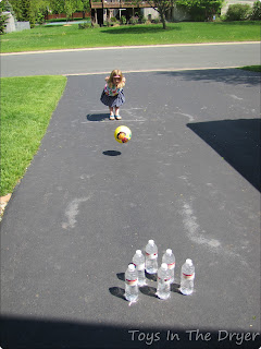 simple bowling game