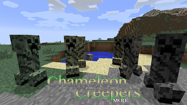 Chameleon Creepers (text by mineblog.minejogo.com.br)