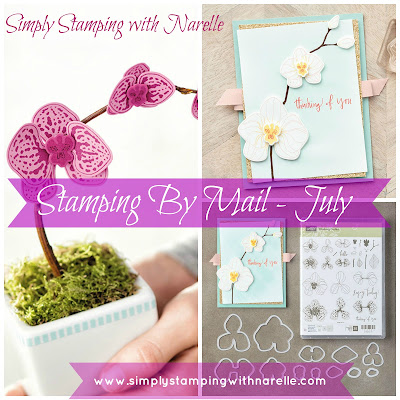 Stamping By Mail - Narelle Fasulo - Simply Stamping with Narelle - http://eepurl.com/cUE7yP