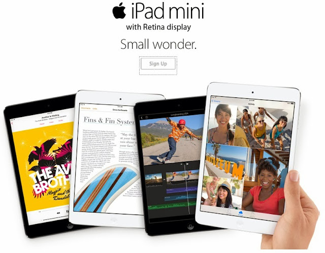 iPad Mini with Retina Display Smart, Globe
