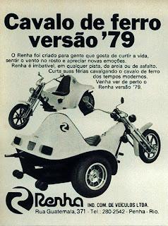 propaganda Cavalo de Ferro - Renha - 1979