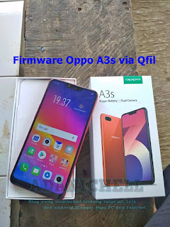 Firmware Oppo A3s via Qfil