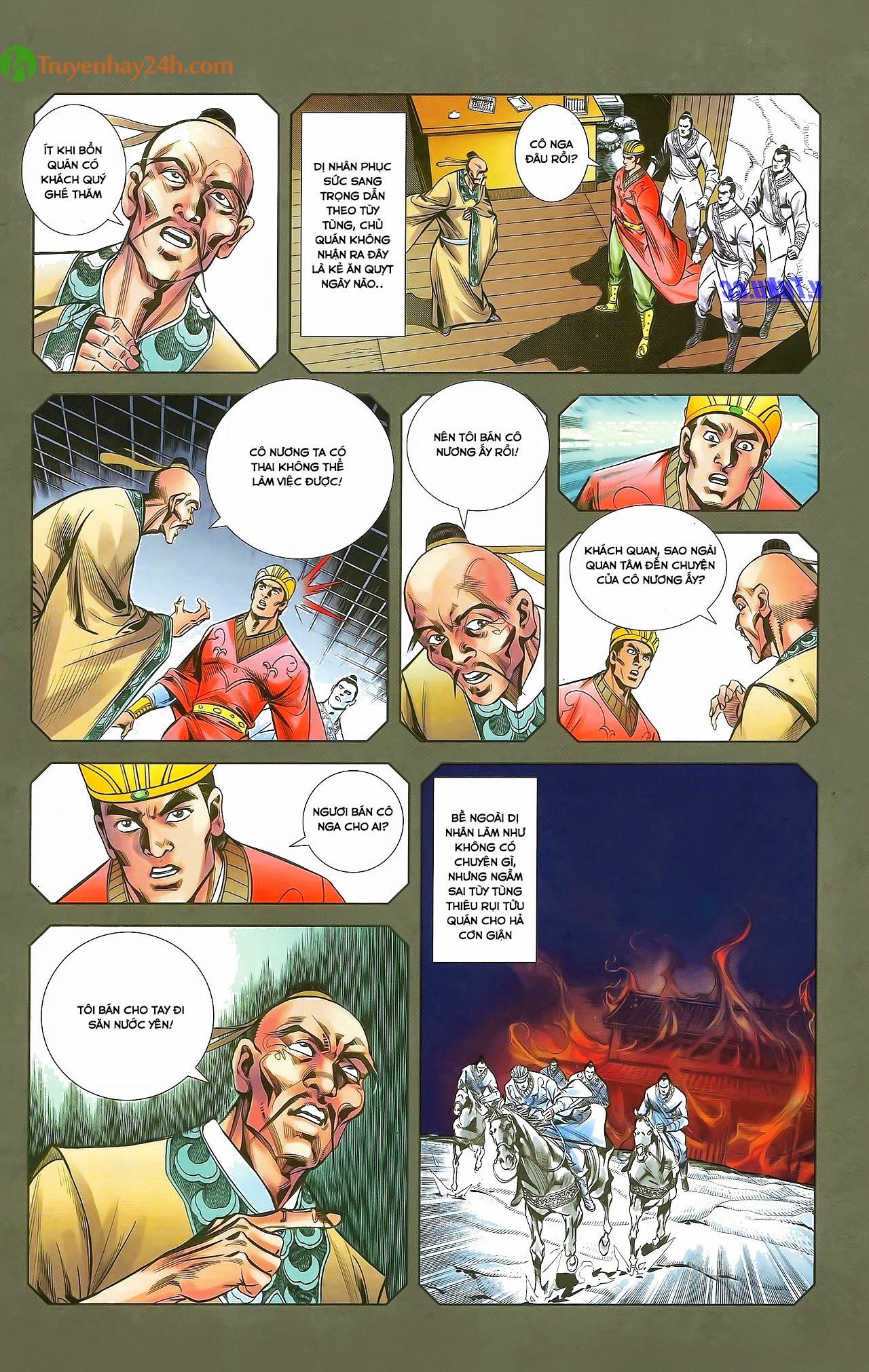 Tần Vương Doanh Chính chapter 29.2 trang 4