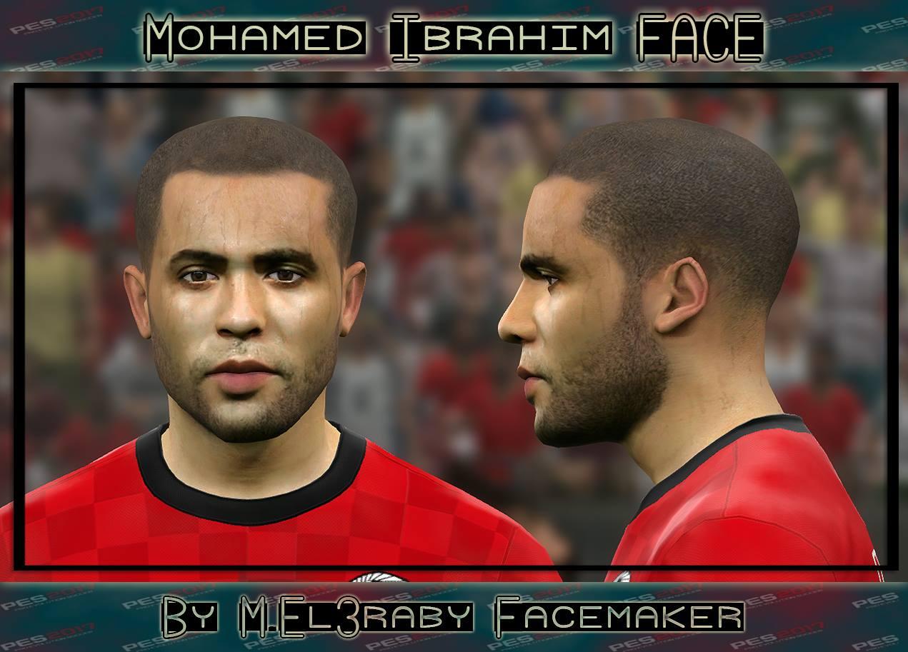 PES 2017 Mohamed Ibrahim (Zamalek) Face