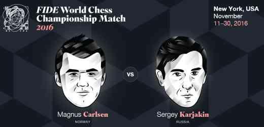 Le Championnat du Monde d'échecs à New York - Photo © site officiel
