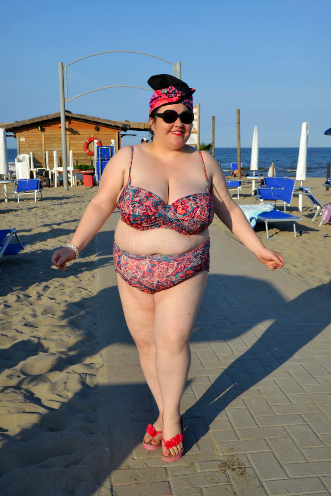 bikini plus size H&M 2016